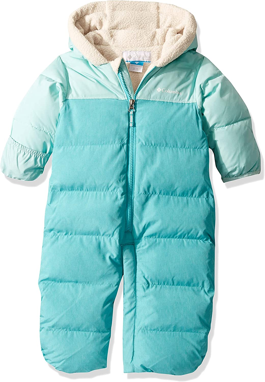 Columbia Infant Pike Lake Convertible Winter Onesie Water repellent Sleeper Bunting