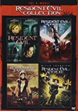 The 4-Movie Resident Evil Collection (Resident Evil/Resident Evil:Apocalypse/Resident Evil:Extinction/Resident Evil:Afterl...