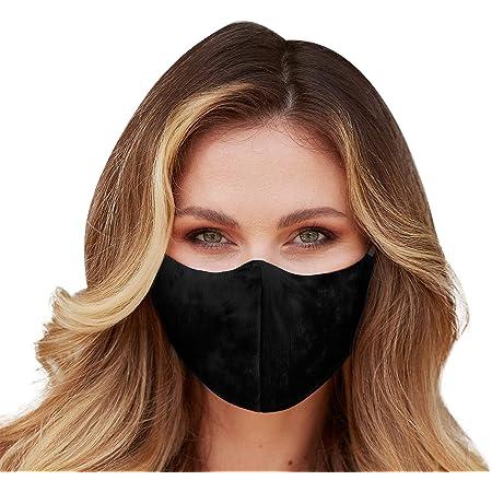 ULTPEAK Face Mask with Filter Pocket Washable Reusable Bandana Face Cover Adjustable Mouth Masks Balaclava for Adult Women Men