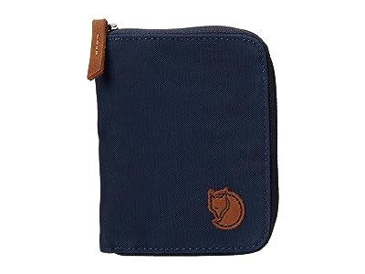 Fjallraven Zip Wallet (Navy) Wallet Handbags