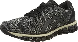 ASICS Australia Gel-Quantum 360 Knit 2 Men's Running Shoe, Feather Grey/Black