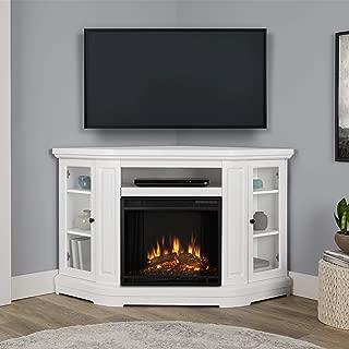 Real Flame Windom Media Corner Electric Fireplace, 57.5