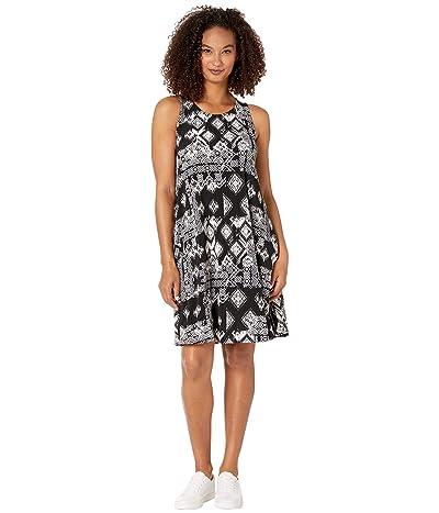 Karen Kane Geo Print Chloe Dress (Black/Off-White) Women