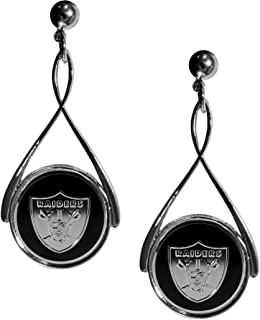 Siskiyou NFL Womens Tear Drop Earrings