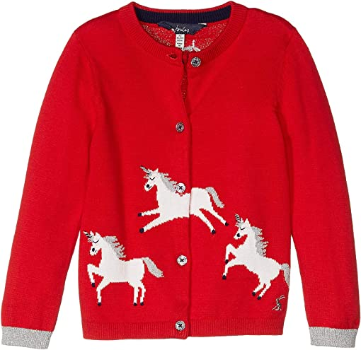 Red Galloping Horses