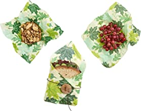 Bees Wrap Reusable Food Wraps Lunch Pack, Forest Floor