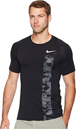 Pro Top Short Sleeve Fitted 2L Camo