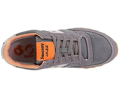 Pro Vegan Originals Orange Low Jazz Charcoal Saucony 8xt0TqZx