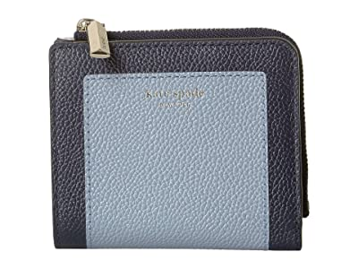 Kate Spade New York Margaux Small Bifold Wallet (Horizon Blue Multi) Bi-fold Wallet