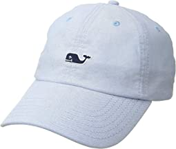 Suede Logo Oxford Baseball Hat