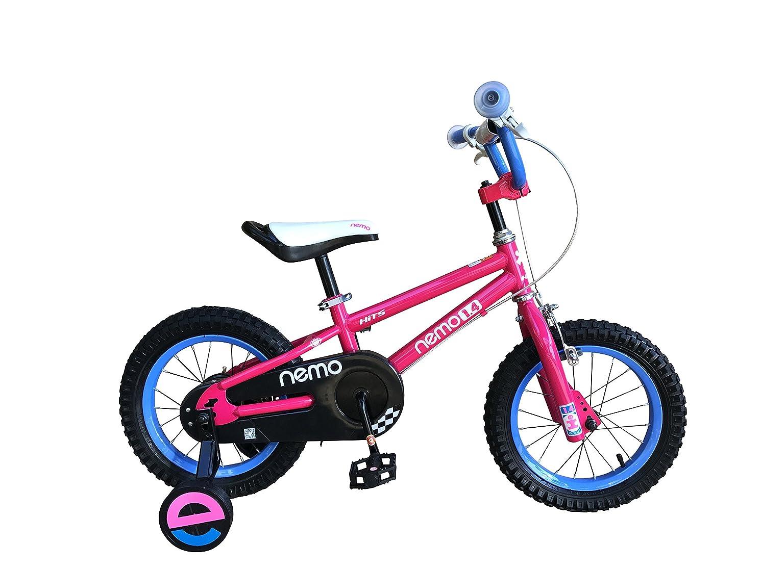 取得生息地エンジニアリングHITS(ヒッツ) Nemo 子供用 自転車 フロントキャリパーブレーキ リア バンドブレーキ 児童用 バイク ハンドブレーキモデル 14インチ 16インチ 男の子にも女の子にもぴったり 3歳 4歳 5歳 6歳 7歳 8歳 9歳