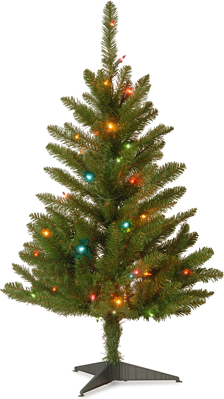 Regular store National Store Tree Company Pre-lit Christmas Inc Mini Artificial