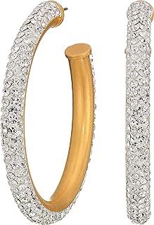 Kate Spade New York Womens Razzle Dazzle Hoops Earrings