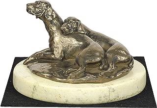 Weimaraner, Dog Sand Marble Base Statue, Limited Edition, ArtDog