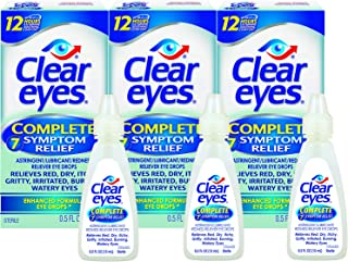 is it bad to use clear eyes everyday