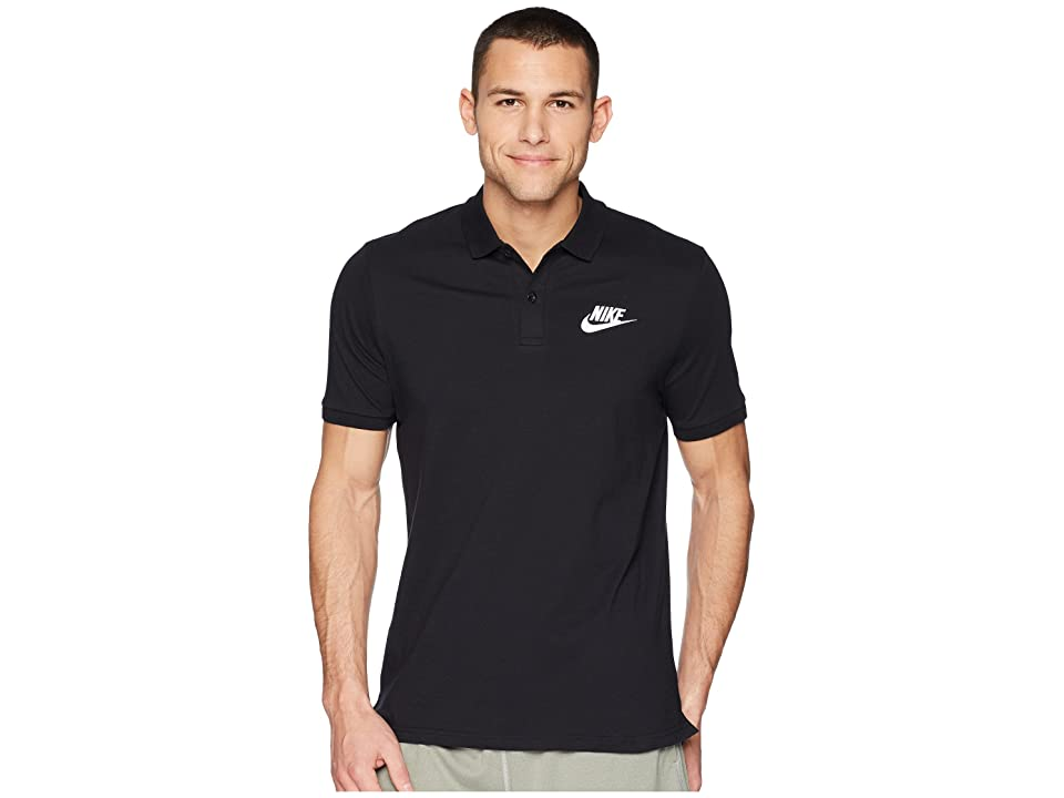 40d3345c5 Nike NSW Polo Jersey Matchup (Black White) Men s Clothing