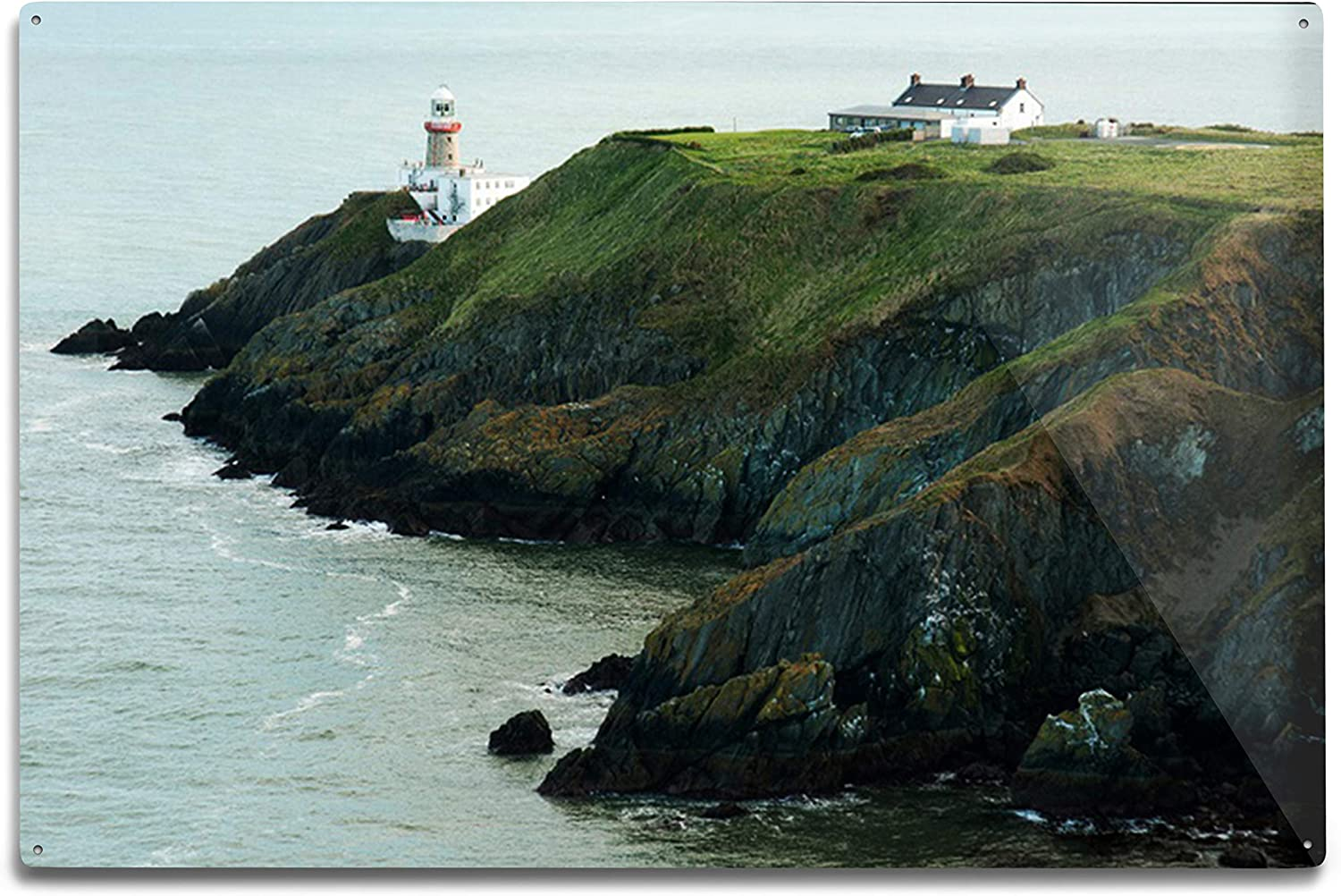 Lantern Press Ireland Overseas parallel import Max 44% OFF regular item Howth in Photography Sunny a Day A-92069