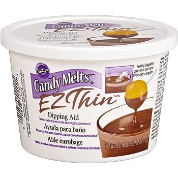 Wilton 1911-2222 Candy Melts Ez Thin,Ez Thin Dipping Aid
