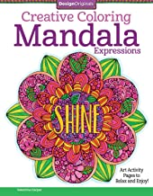 Creative Coloring Mandala Expressions: Art Activity Pages to Relax and Enjoy! (Design Originals)