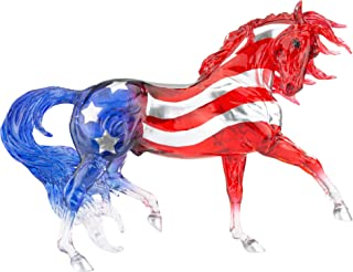 Breyer Horses Traditional Series Collector Model | Old Glory | Patriotic Red, White and Blue | 2021 Limited Edition | Hors...