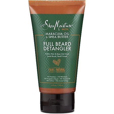 SheaMoisture Full Beard Detangler for Full Beards Maracuja Oil and Shea Butter Paraben Free Beard Detangler 4 oz