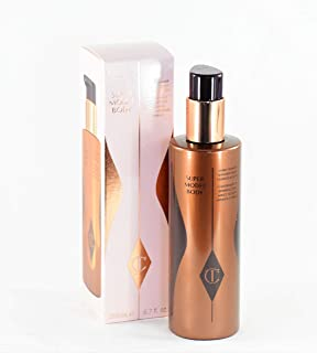 Charlotte Tilbury Super Model Body Bronzing Shimmer, Shape, Hydrate and Glow - 6.7 oz /200ml X-Large Size