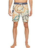 Da Bush Four-Way Stretch Boardshorts 18.5""