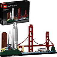 LEGO Architecture Skyline Collection 21043 San Francisco Building Kit includes Alcatraz model,...