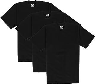 317fa0dc Pro Club Men's 3-Pack Heavyweight Cotton Short Sleeve Crew Neck T-Shirt