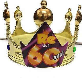 dor SCETTRO MISS 60 ANNI idea regalo gadget per 60/° compleanno