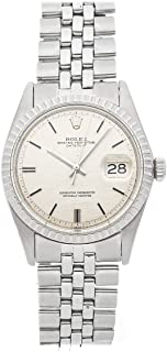 Rolex Datejust Mechanical (Automatic) Silver Dial Mens Watch 1603 (Certified Pre-Owned)