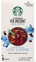 starbucks iced coffee instant