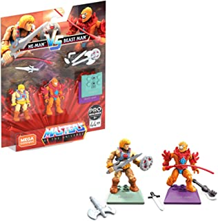 Mega Construx Heroes He-Man Vs. Beat Man, Multi (GNN73)