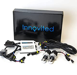 Innovited AC 55W BI-XENON HI/LOW DUAL BEAM HID Kit - H4 9003 8000K - 2 Year Warranty