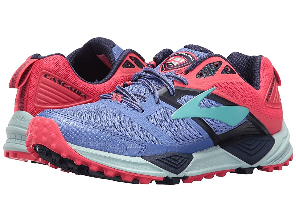 Brooks Cascadia 12 (Baja Blue/Paradise Pink/Clearwater) Women