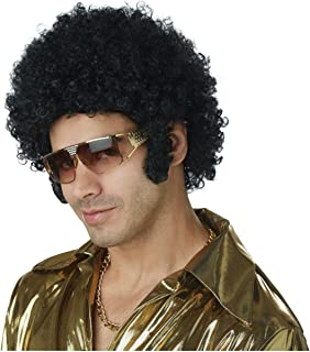 Men's Afro Chops Wig