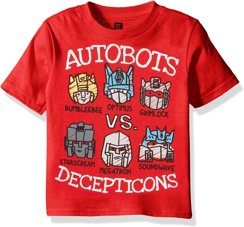 Transformers Boys Graphic Short Sleeve T-Shirt