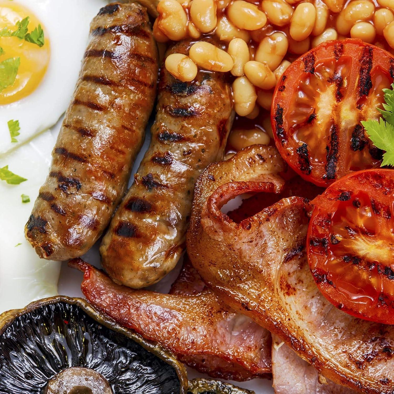 Traditional Irish Breakfast Meats Bundle 16-oz Bangers,8-oz Baco