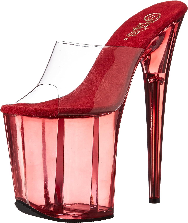 Pleaser Womens Flam801t C R Platform Sandal