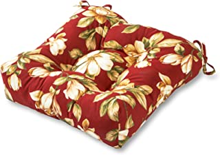 Greendale Home Fashions 20-Inch Indoor/Outdoor Chair Cushion, Roma Floral