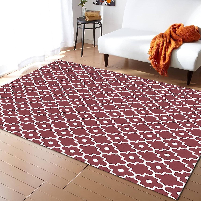 ARTSHOWING Moroccan Area Rug Store Decorative Super-cheap Carpets Non-Slip for Li