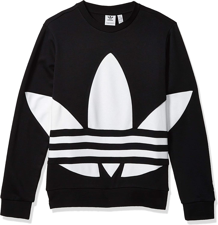 adidas Originals Youth Big Trefoil Crew Neck Sweatshirt