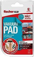 fischer VAKUUM PAD, zelfklevende pad in blauw, anti-slip mat, voor bevestiging zonder boren, betere zuignap, extreem sterk...