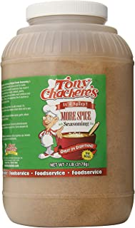 Tony Chachere More Spice Seasoning, 7-Pound Packages