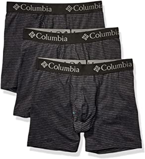 Men's Performance Cotton Stretch Boxer Brief - 3 pack