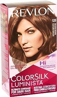 Revlon ColorSilk Luminista Hair Color, 120 Golden Brown 1 ea (Pack of 2)