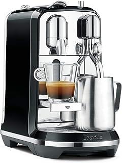 Breville Nespresso Creatista Single Serve Espresso Machine with Milk Auto Steam Wand, Black (Renewed)