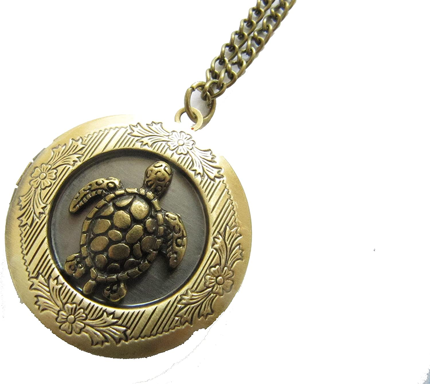 Spring new work one after another Personalized Turtle Locket Necklace Jewelry Boston Mall Lo sea
