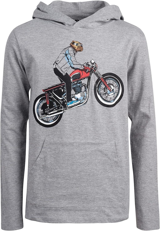 Tony Hawk Boys' Shirt - T-Shirt Luxury goods Milwaukee Mall Long Hoodie Sleeve