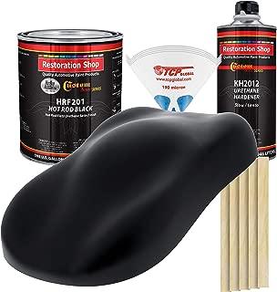 Custom Shop Hot Rod Black - Hot Rod Flatz Urethane Automotive Flat Matte Car Paint, 1 Gallon Kit
